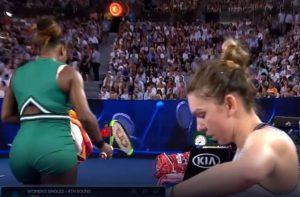 Serena versus Simona