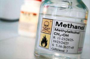 Metanolul poate fi folosit ca si combustibil.